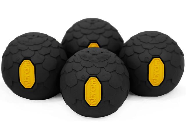 Helinox Vibram Ball Feet Set d'autocollants 4 pièces, black